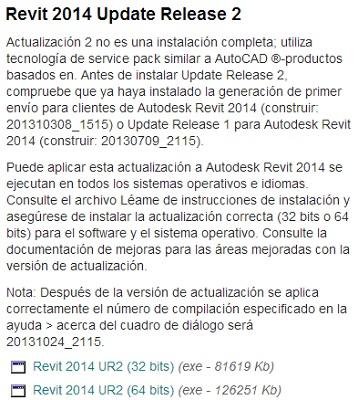 Revit 2014 Update Release 2