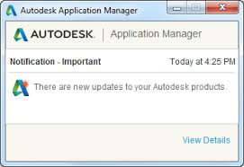Autodesk Application Manager