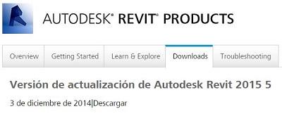 Autodesk Revit 2015 Update Release 5